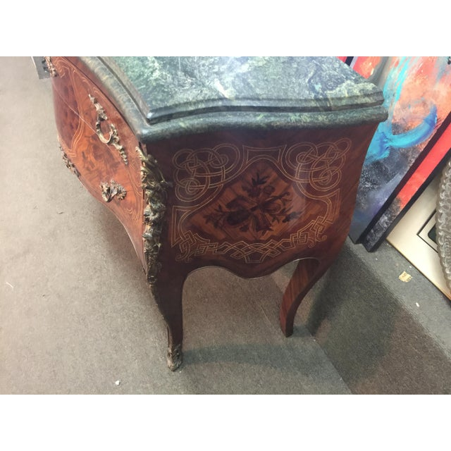 French Louis XV Style Marble Commode For Sale In San Francisco - Image 6 of 12