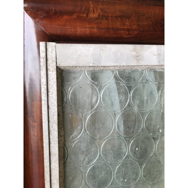 Vintage Bottle Glass Windows-A Pair For Sale - Image 12 of 13