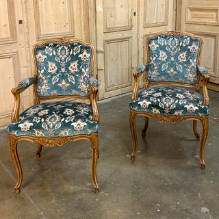 Antique Louis XV Dining Chairs - Set of 6 Preview