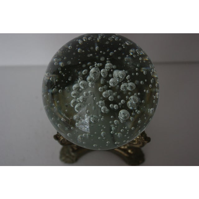 Floating Bubbles Glass Orb & Stand - Image 4 of 4