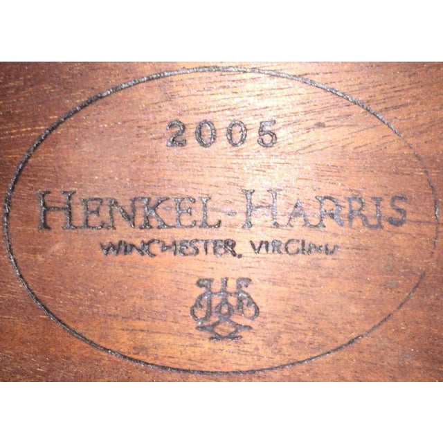 2000 - 2009 2000s Myers Mahogany Card Table by Henkel Harris #5701 For Sale - Image 5 of 6