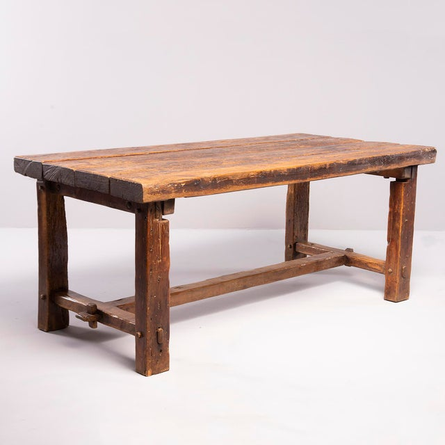 Early 19th Century Rustic Table For Sale - Image 4 of 13