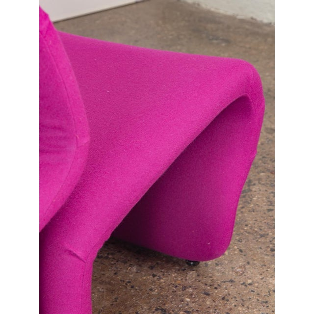 Pink Space Age Etcetera Chairs by Jan Ekselius - a Pair For Sale - Image 8 of 10