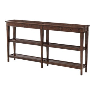 French Provincial Neo Classic Console Table For Sale