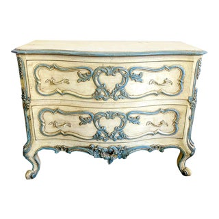 Vintage French Provincial Baroque Style Chest For Sale