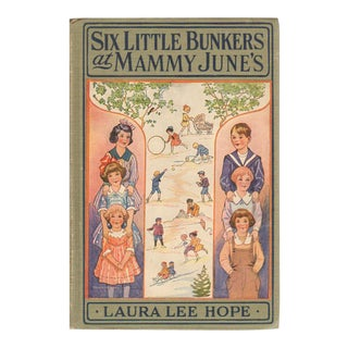 """1922 """"Six Little Bunkers at Mammy June's"""" Collectible Book For Sale"""