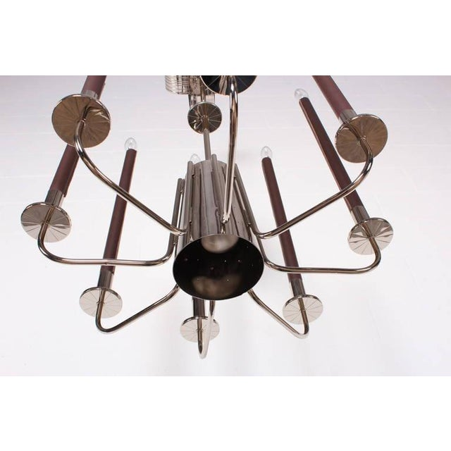 Large Chandelier by Tommi Parzinger - Image 6 of 10