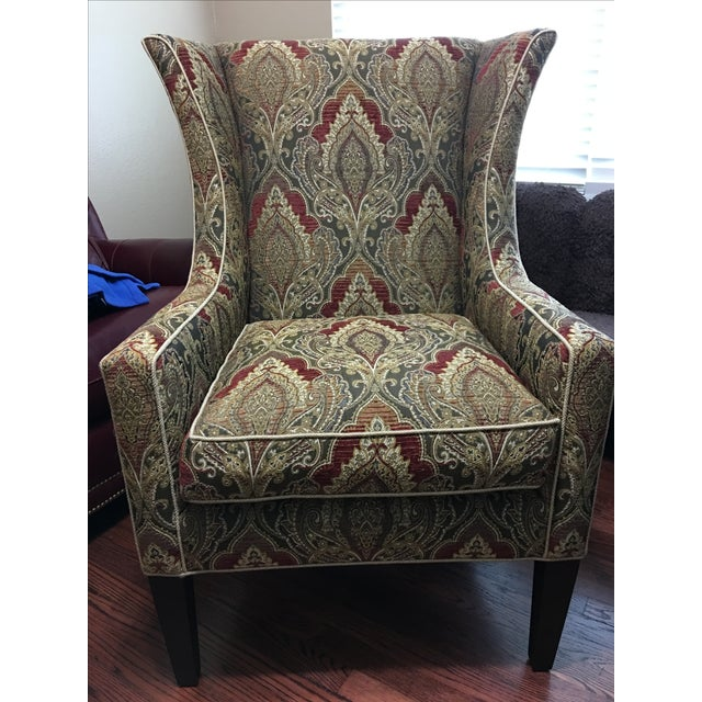 Sherrill Furniture Wing Chair - Image 2 of 5