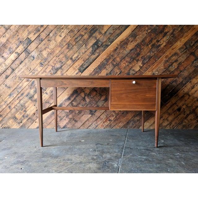 Mid Century Drexel Declaration Desk by Kipp Stewart For Sale - Image 11 of 11