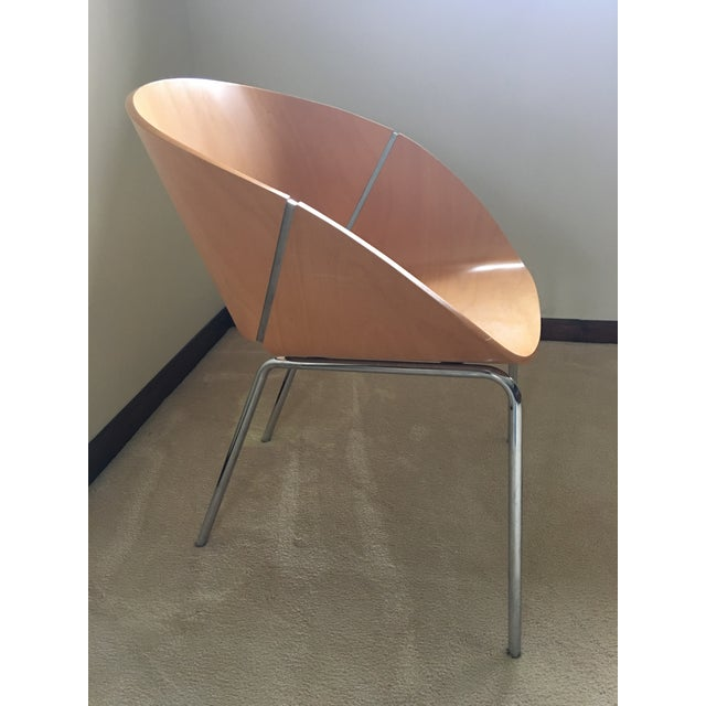 Wolfgang C.R. Mezger Lipse Chairs - A Pair For Sale - Image 4 of 10