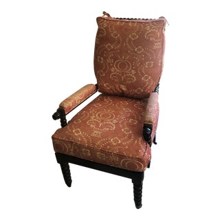 Custom Red Bobbin Chair For Sale