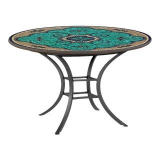 "Sardinia 42"" Bistro Table with Black Iron Base For Sale"