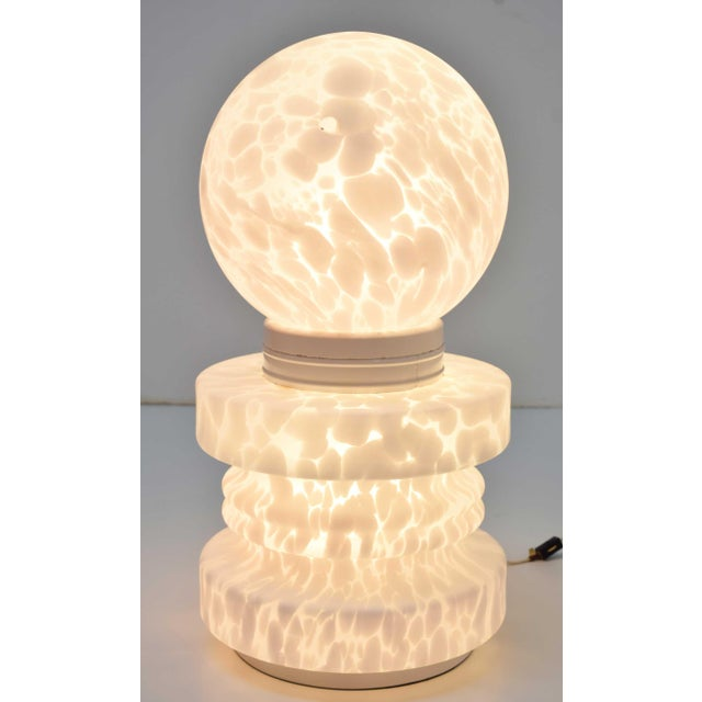 1960's Vistosi Cumulus Murano Glass Totem Lamp For Sale - Image 9 of 9