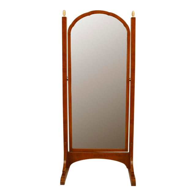 Art Deco Amboyna Cheval Mirror For Sale