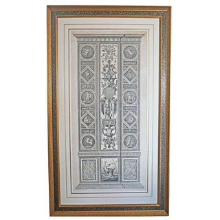 18th Century Italian Neoclassical Engraving For Sale