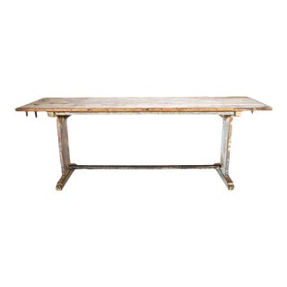 Vintage French Rustic Bistro Table