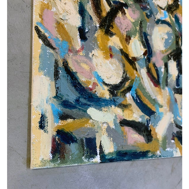 Abstract The Dance, 11 by 14 For Sale - Image 3 of 3