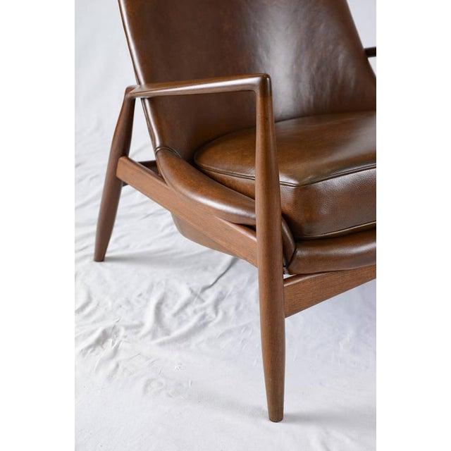 "Ib Kofod-Larsen High Back ""Seal"" Chair For Sale - Image 9 of 10"