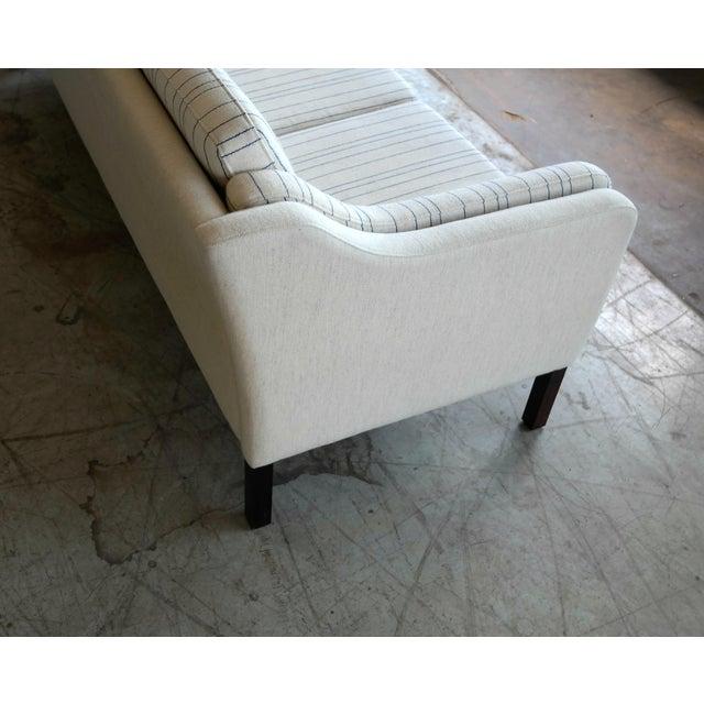 Børge Mogensen Style Three-Seat Sofa Model 2423 by Mogens Hansen - Image 8 of 9