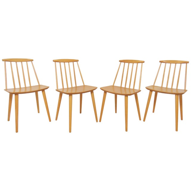 Set of Four Folke Palsson for Fdb Mobler, Denmark Dining Chairs, Circa 1975 For Sale - Image 11 of 11