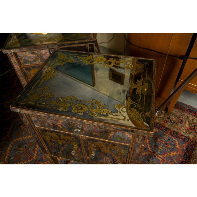Verre Eglomise Mirrored Stand - Image 4 of 8