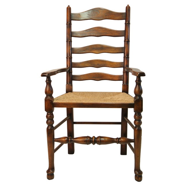 Ladder Back Arm Chair - Image 1 of 3