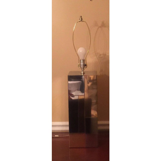 Paul Evans Cityscape Table Lamp - Image 3 of 6