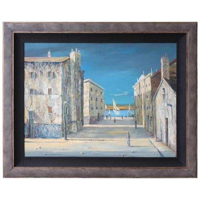 Italian Scene Painting Signed Donati For Sale