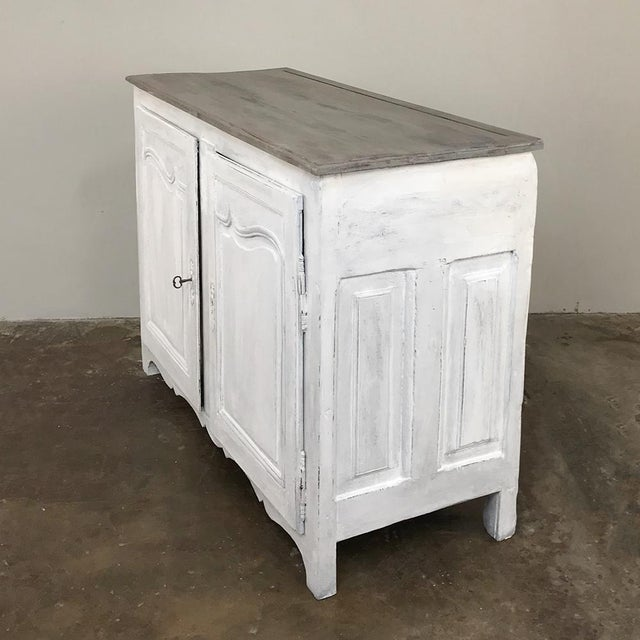 Country 18th Century Country French Provincial Painted Buffet For Sale - Image 3 of 13