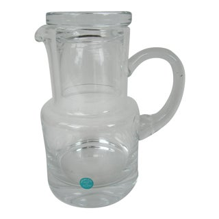 Tiffany & Co. Executive Water Carafe With Tumbler