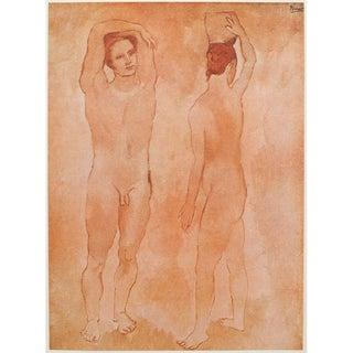 Original 1948 Picasso Les Adolescents Lithograph For Sale