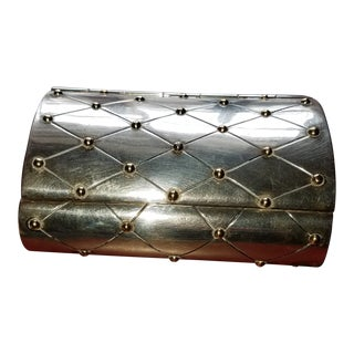Vintage Mid-Century William Spratling Quilted Sterling Silver Box For Sale