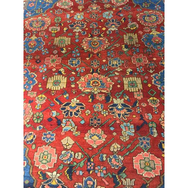"Vintage Bellwether Rugs Persian Bactiari Area Rug - 6'9""x10'2"" - Image 4 of 11"