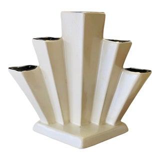 Art Deco Architectural Bud Vase For Sale