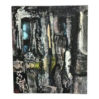 Small Modern Abstract Painting