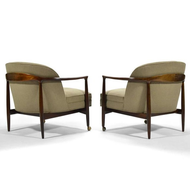Finn Andersen Barrel-Back Lounge Chairs - Image 5 of 11