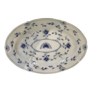 Bing & Grondahl Blue Onion Butterfly Pattern Platter For Sale