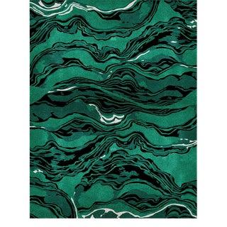 Covet Paris Amazon Botanical Rug - 6′7″ × 9′10″ For Sale