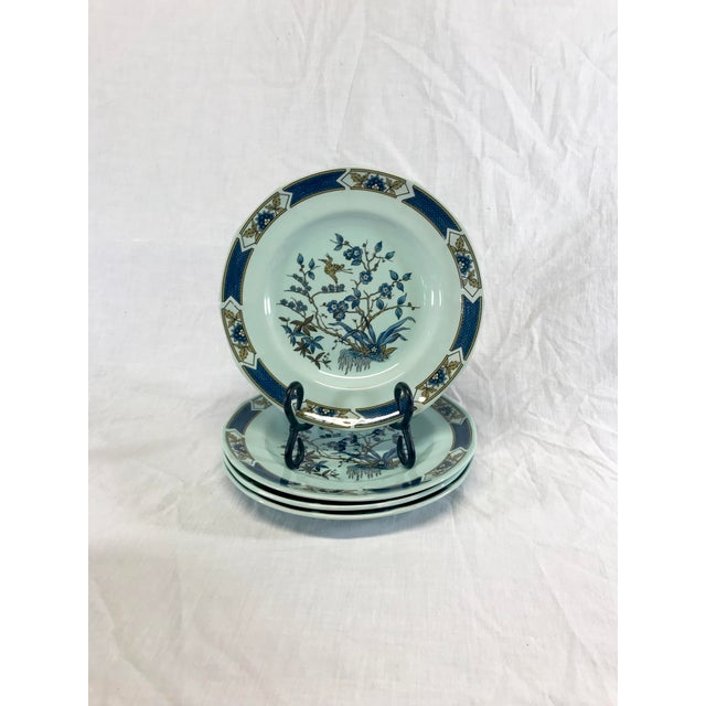 Mid 20th Century Wedgwood Ironstone Ming Toi Dinnerware, Set of 12 For Sale - Image 5 of 8