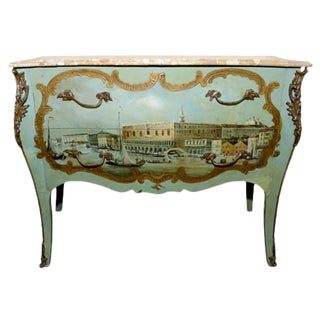 19th Century Renaissance Revival Style Commode For Sale