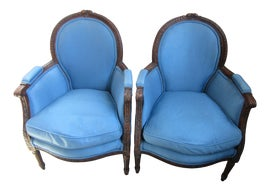Image of Family Room Bergere Chairs