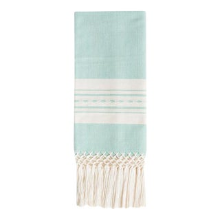 Mint Madre Hand Towel