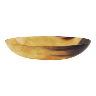 Oval Horn Bowl For Sale