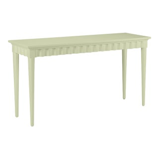 Casa Cosima Flutter Console, Guilford Green For Sale