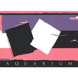 Walker Benjamin, Aquarium, 1986, Serigraph For Sale