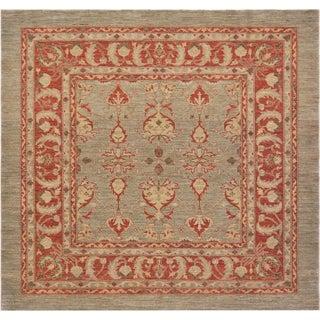Mansour Superb Quality Handmade Square Agra Rug
