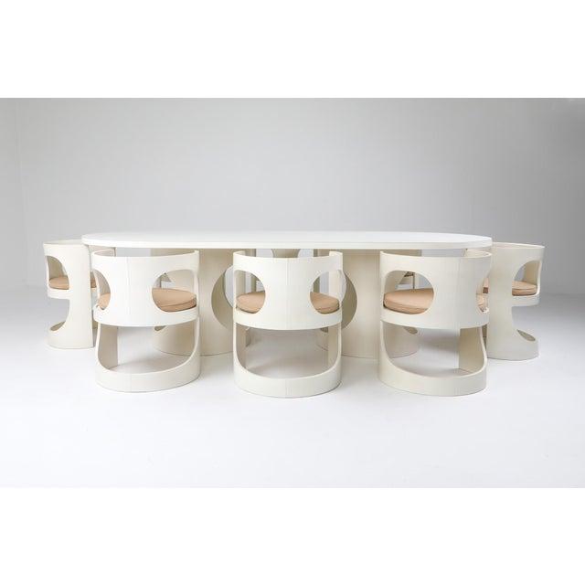 Arne Jacobsen Pre Pop Dining Table for Asko - 1969 For Sale - Image 11 of 12