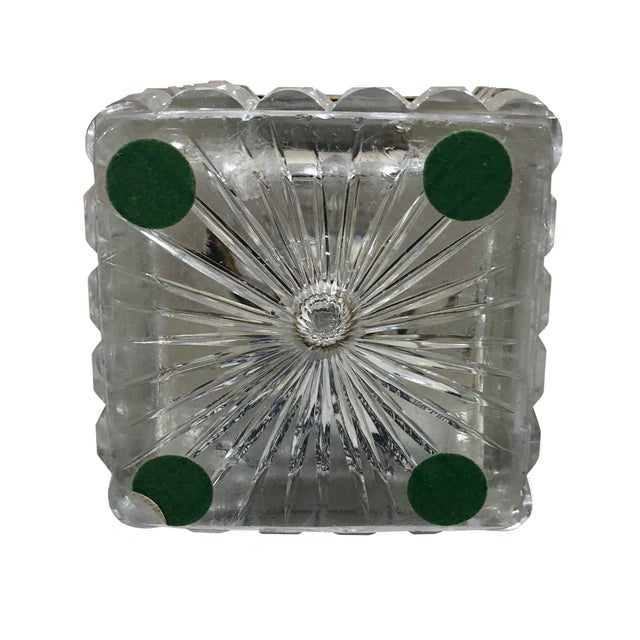 Early 19th Century Early 19th Century Neo Classical French Baccarat Crystal Box For Sale - Image 5 of 6