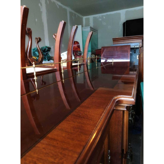 Chippendale Lexington Formal Buffet Arnold Palmer Collection Cherrywood Sideboar For Sale - Image 3 of 6