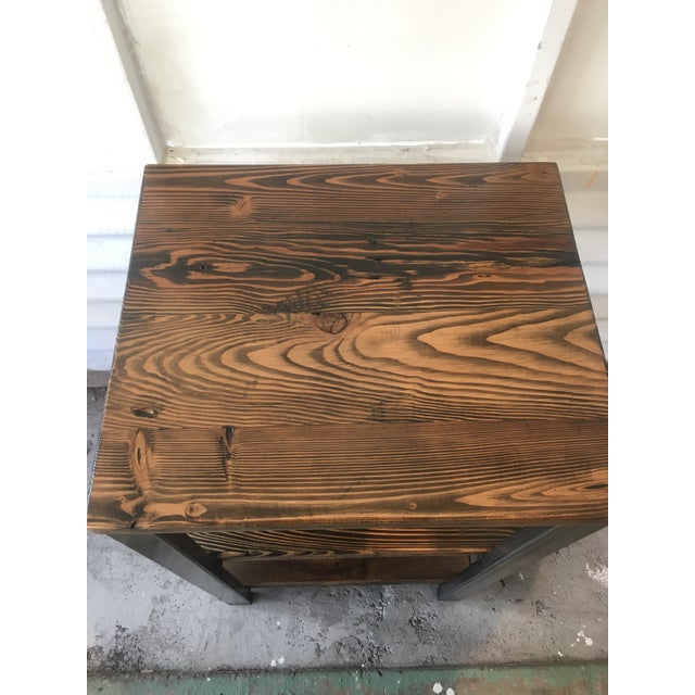 Handmade Reclaimed Wood Bar - Image 6 of 7